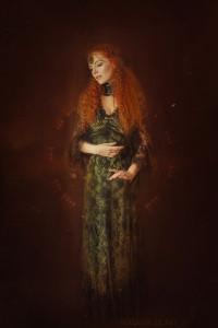 Models: Myrna Moonstruck, Kleider: Somnia Romantica, Schmuck: Elegant Curiosities