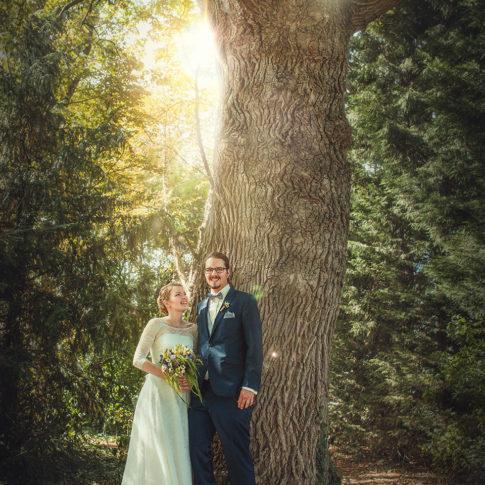 Fotoshooting Hochzeit Brautpaar Shooting