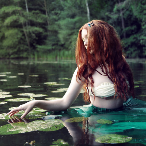 Fotoshooting Fantasy Shooting Meerjungfrau Ophelia