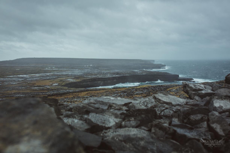 Klippen auf Inis Mor