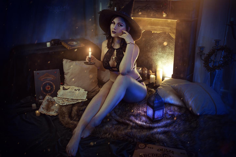 Hexen Boudoir Foto-Set