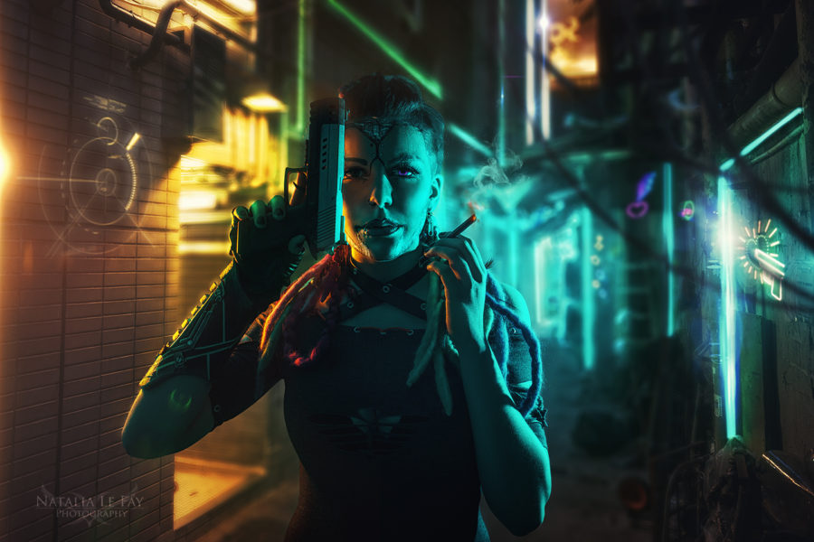 Cyberpunk Cyber New Retro Wave