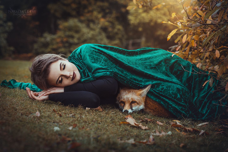 Herbst-Shooting mit Foxy