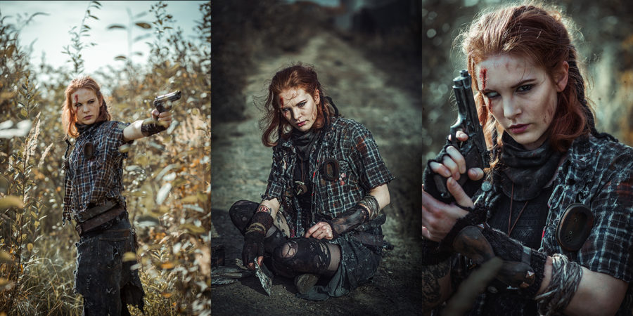 Endzeit Shooting mit Monono Creative Arts Wasteland