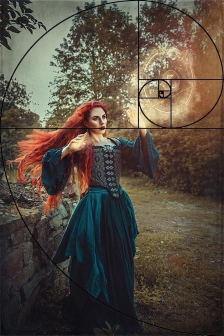 Spirale Fokus Fantasy Fotografie