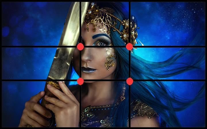 Goldener Schnitt Magie Fantasy Fotoshooting